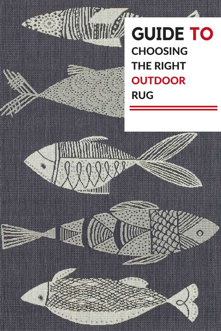 Guide to choosing the right outdoor rug