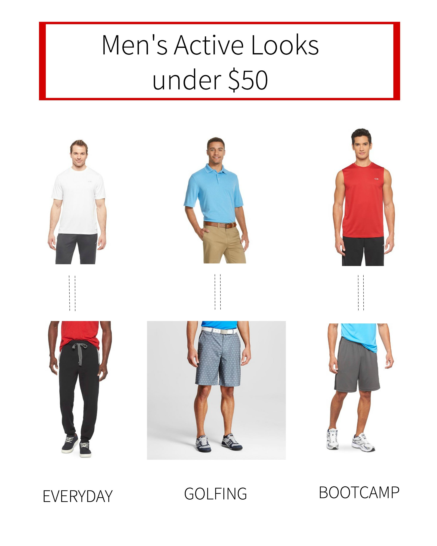 Men's Active Looks under $50