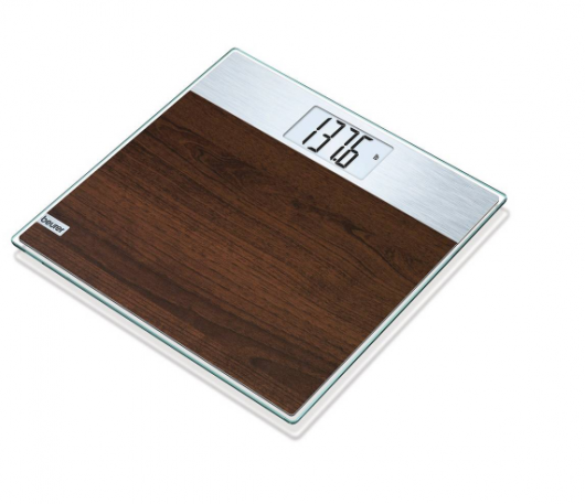 Beurer Digital Faux Wood Glass Scale