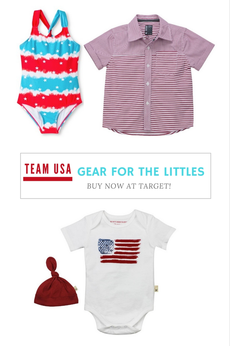 team USA gear for the Littles at Target