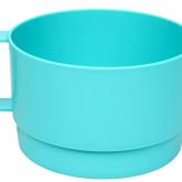Plastic Stackable Mug Bowls 2pk Turquoise