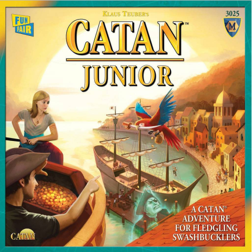 Catan Junior Strategy Board Game