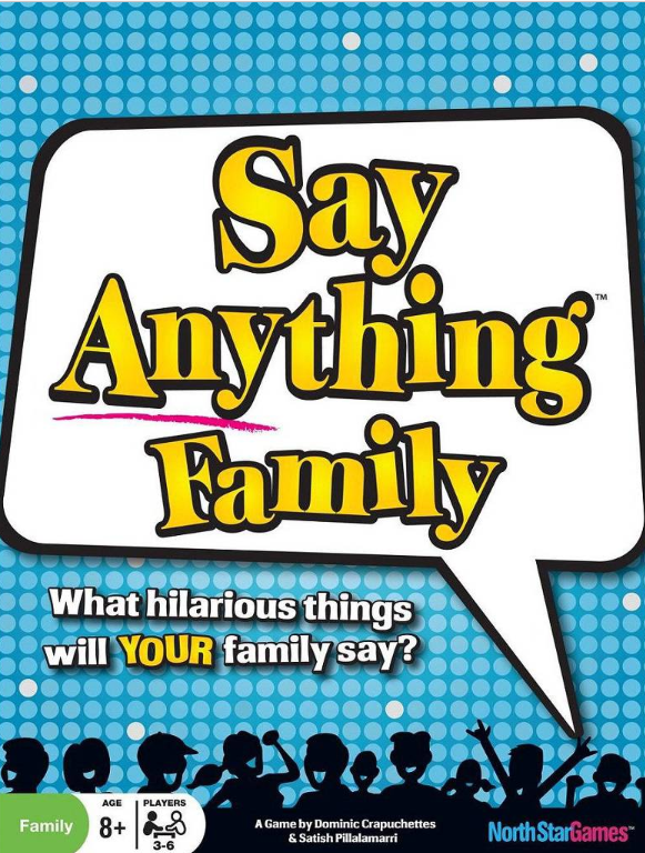 Say Anything Family Board Game North Star Games