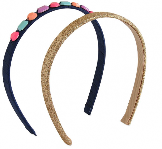 Opaque Jeweled Headbands