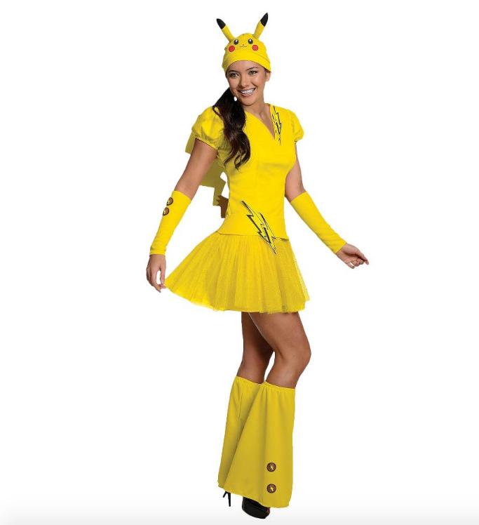 Women's Pokémon Pikachu Costume