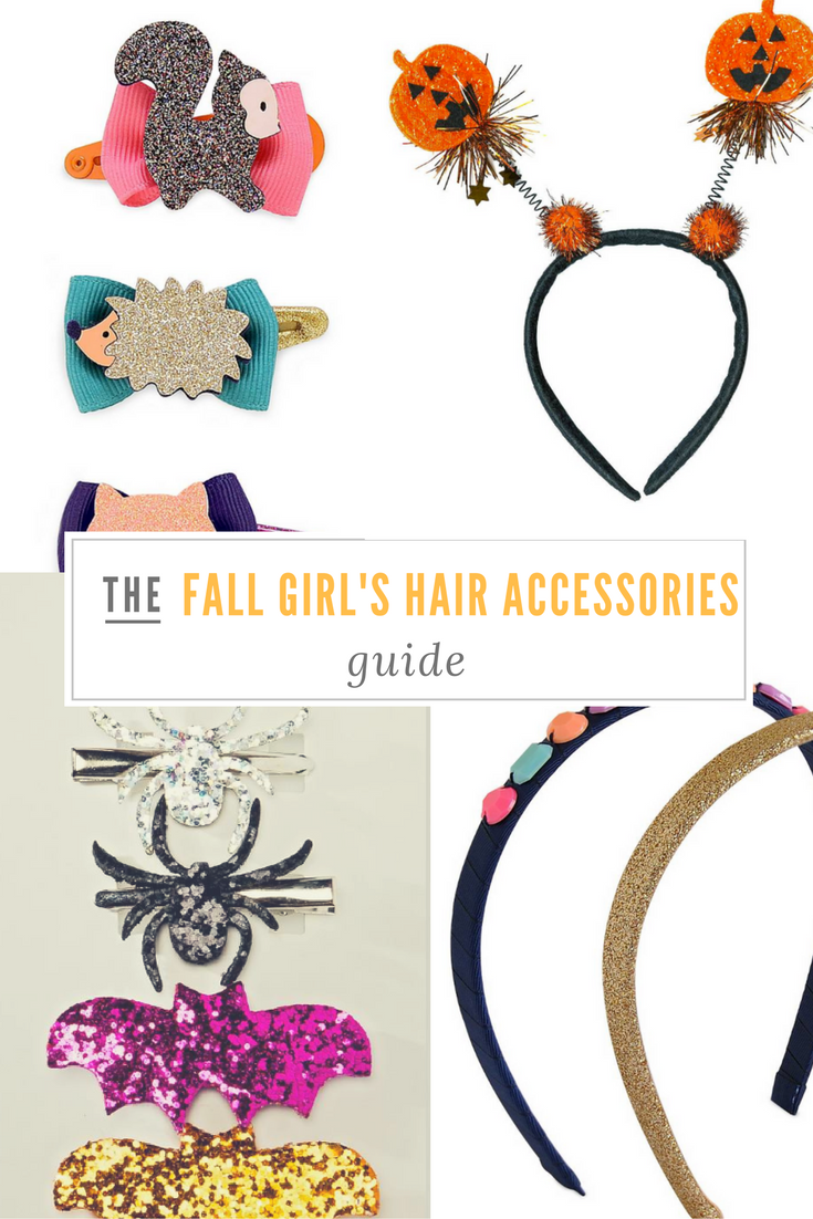 fall girl's hair accessories