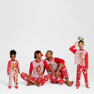 Rudolph family PJs