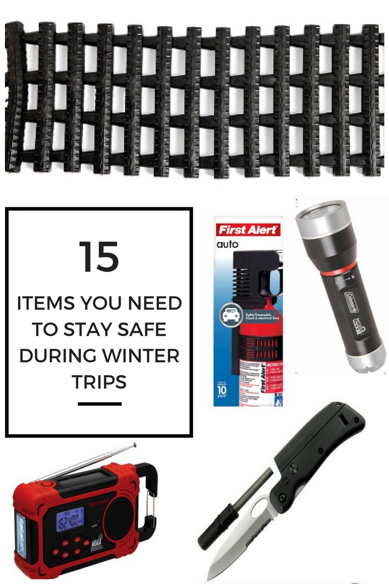 ITEMS YOU NEED TO STAY SAFE DURING WINTER TRIPS