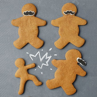 classic gingerbread cut-out cookies