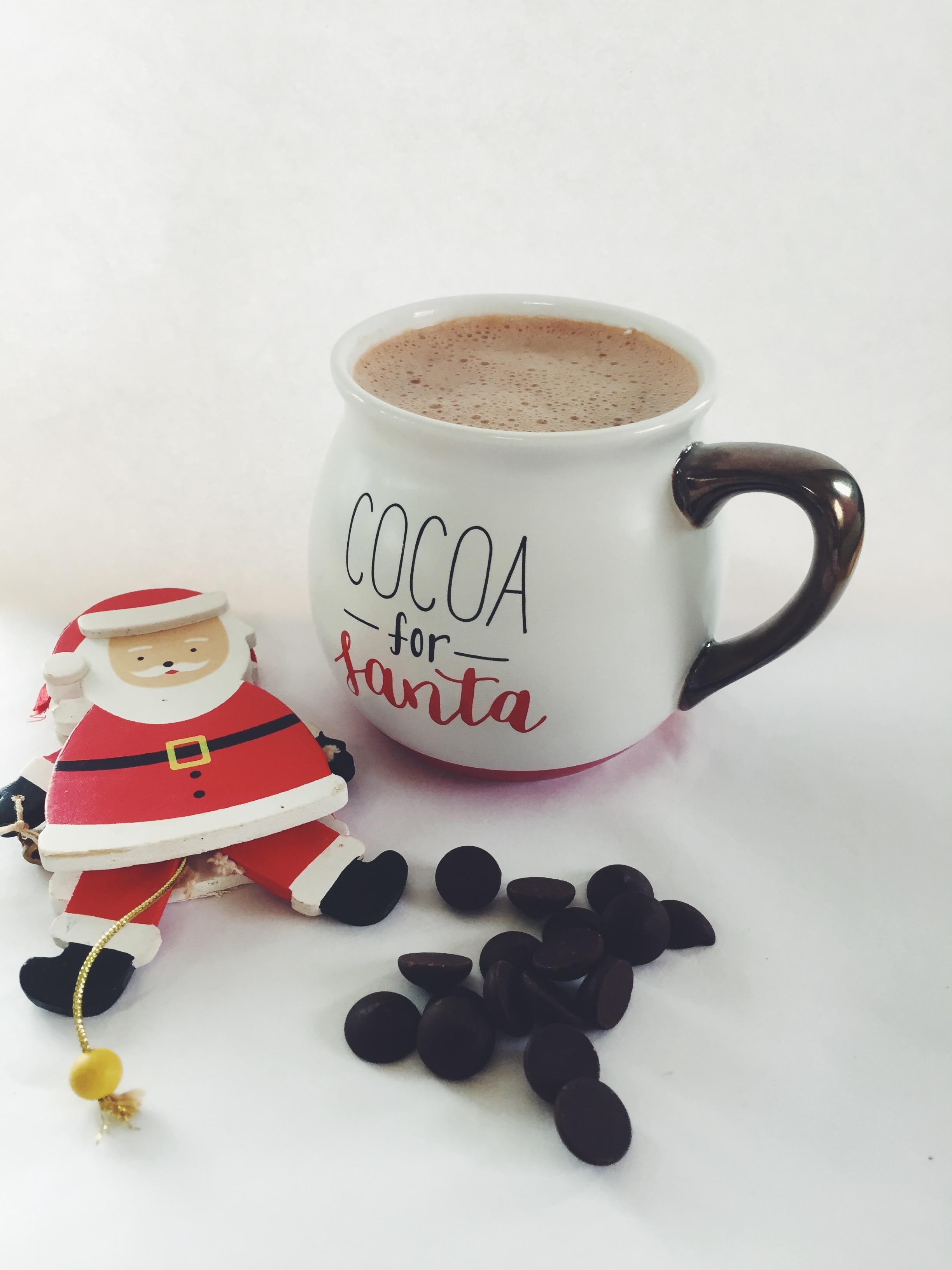 cocoa for santa