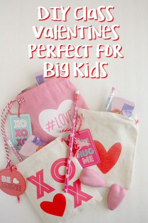 DIY Class Valentines Perfect for Big Kids Cover 2