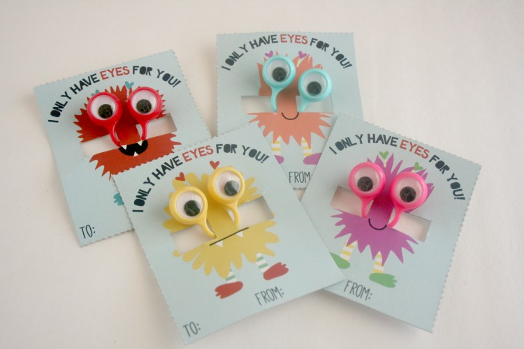 DIY Ready made Valentines for Kids