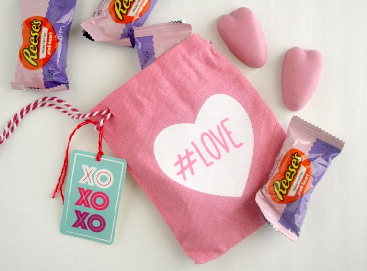 DIY Valentines Canvas Sacks Perfect for Kids
