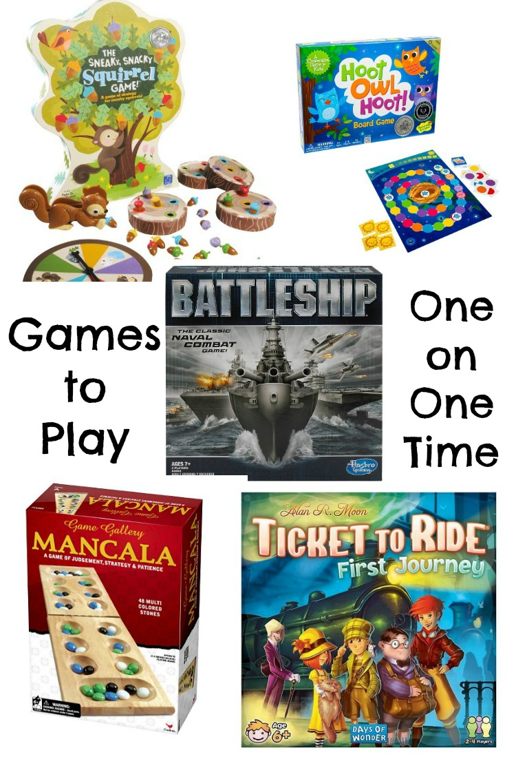 Games for one on one