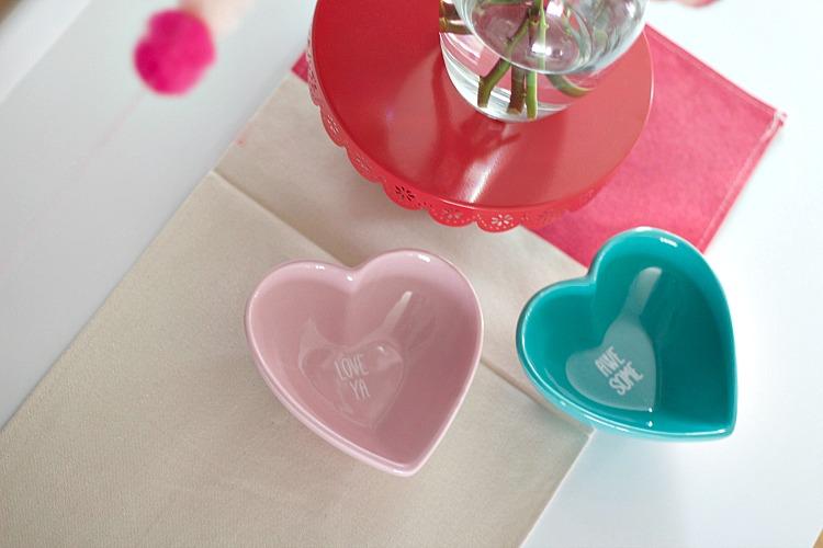 Heart Bowls Valentine's Day Dollar Find