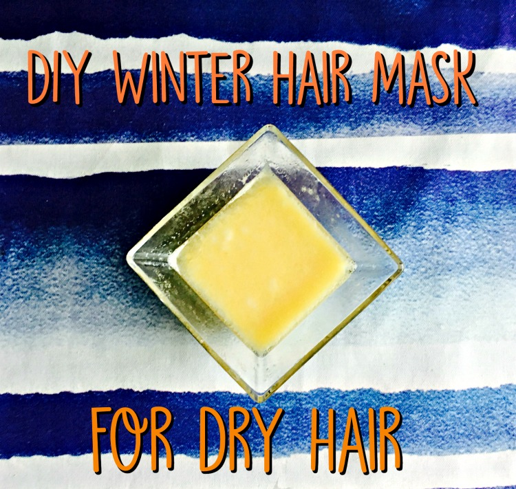 diy winter hair mask for dry hair 1