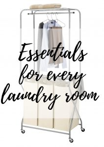 essentials for every laundry room