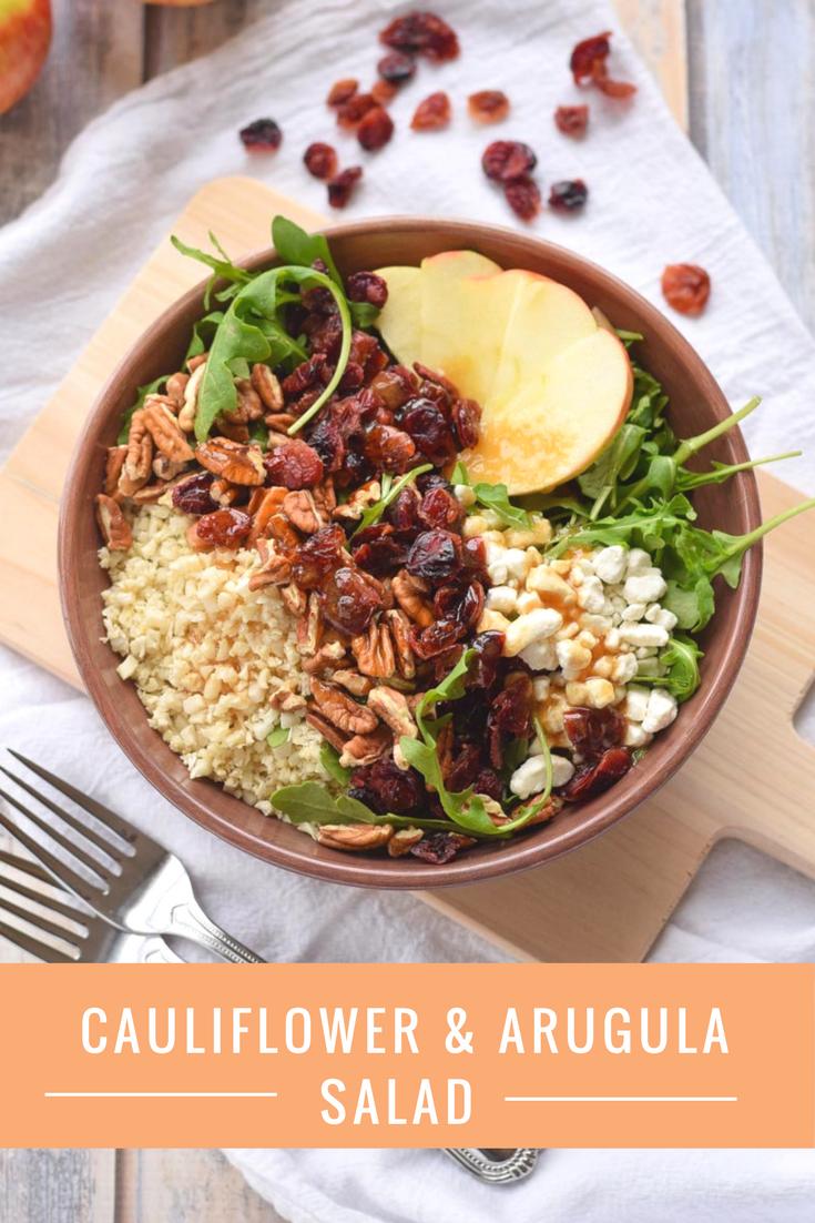 Cauliflower and Arugula Salad