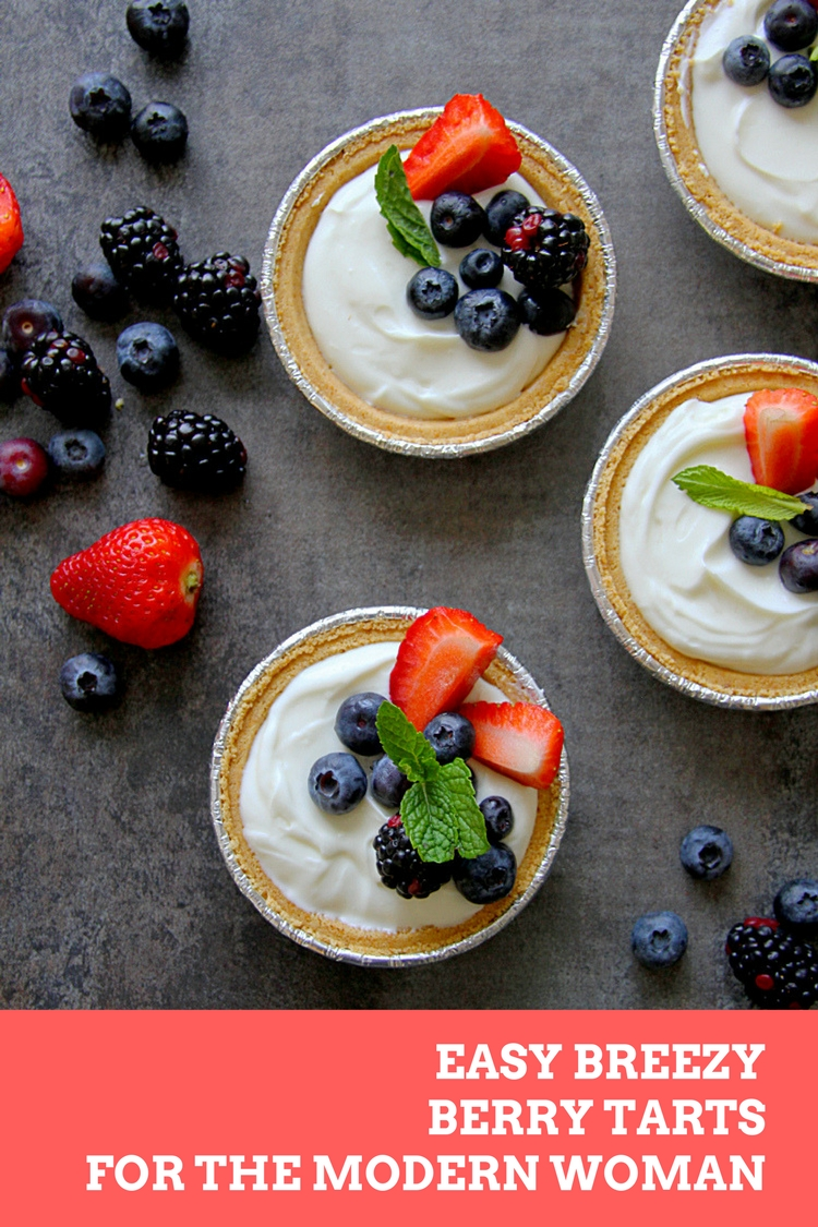 EASY BREEZY BERRY TARTS FOR THE MODERN WOMAN - HAPPY&HARRIED