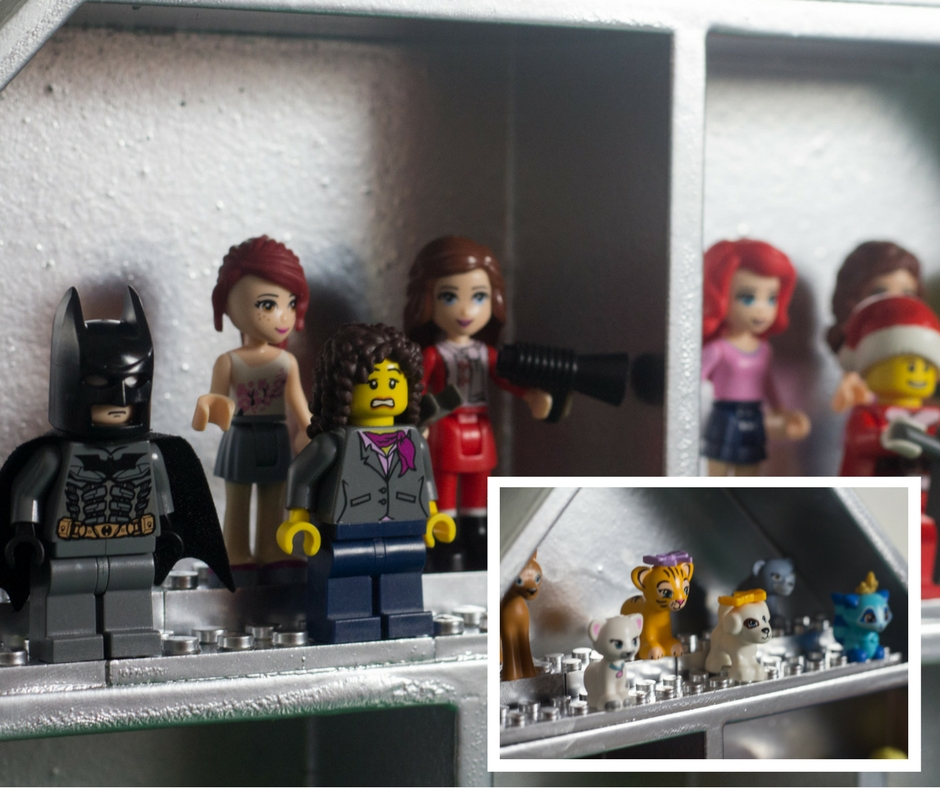 One Shelf Three Ways- Lego