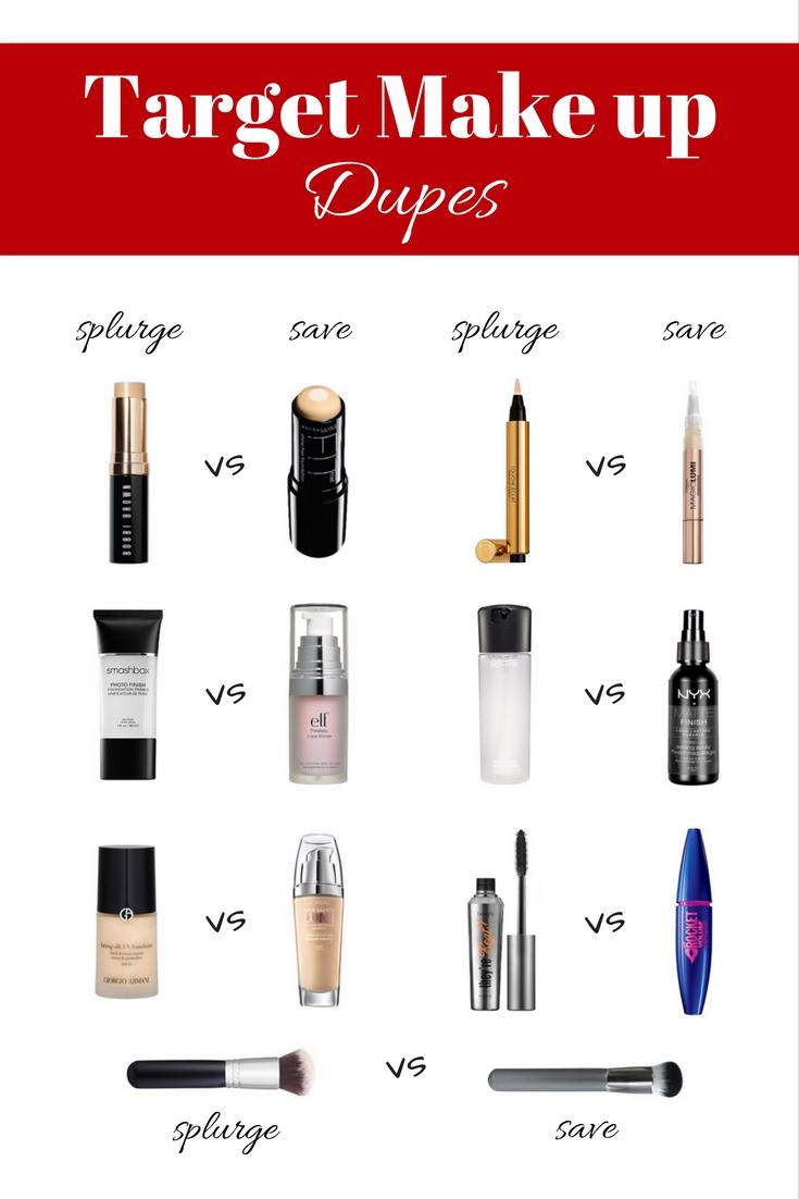 Top 7 Target Makeup Dupes Target Made Me Do It