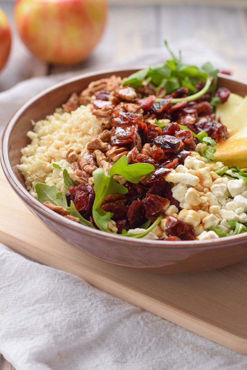 Arugula and Cauliflower Salad