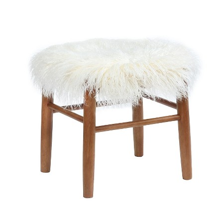 faux accent stool
