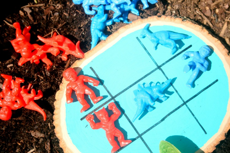 Garden Tic Tac Toe Game for Kids