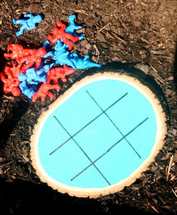 Garden Tic Tac Toe Game Board
