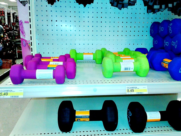 Target hand weights