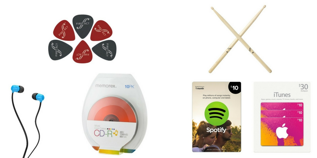 Easter basket on a budget for teens target made me do it instruments may be too spendy for an easter gift but there are plenty of budget friendly gifts for your favorite future rock star at target negle Choice Image