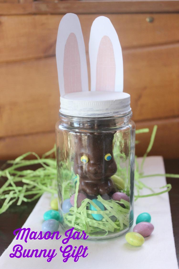 Mason Jar Bunny Gift Target Made Me Do It