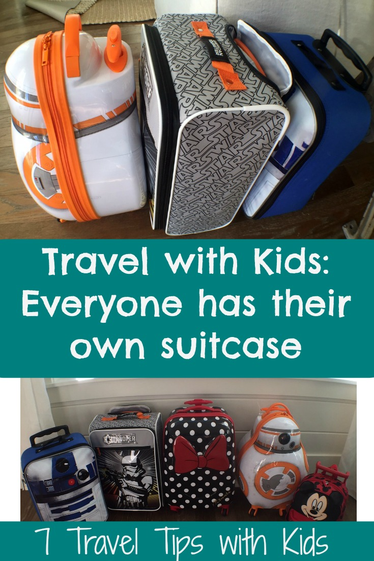 Travel with Kids Made Easy: Everyone Has Their Own Suitcase