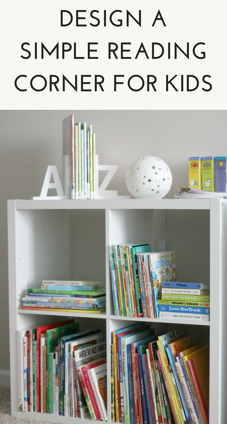 Design a Simple Kids Reading Corner
