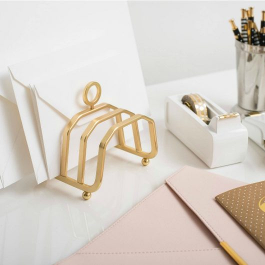 Target alert! Glam Up Your Office With Gold