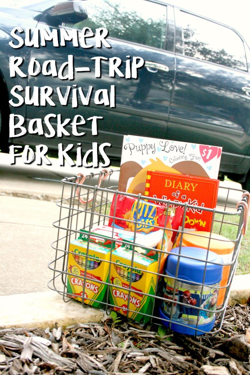 Summer Road Trip Basket