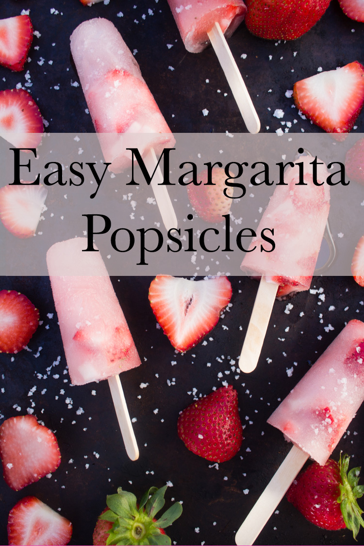 easy margarita popsicles