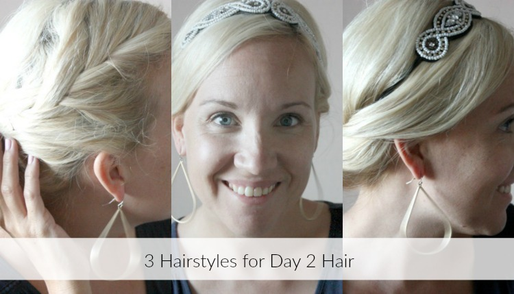 Easy Hair Styles For When You Dont Want To Wash Your Hair Target
