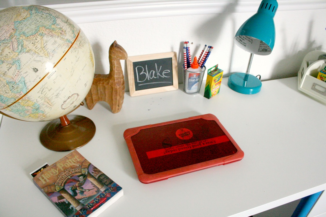 School Age Desk Ideas