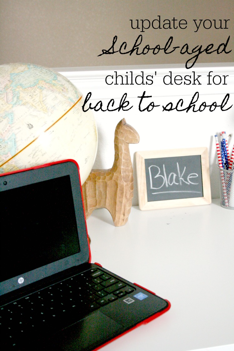 Update your desk for back to school