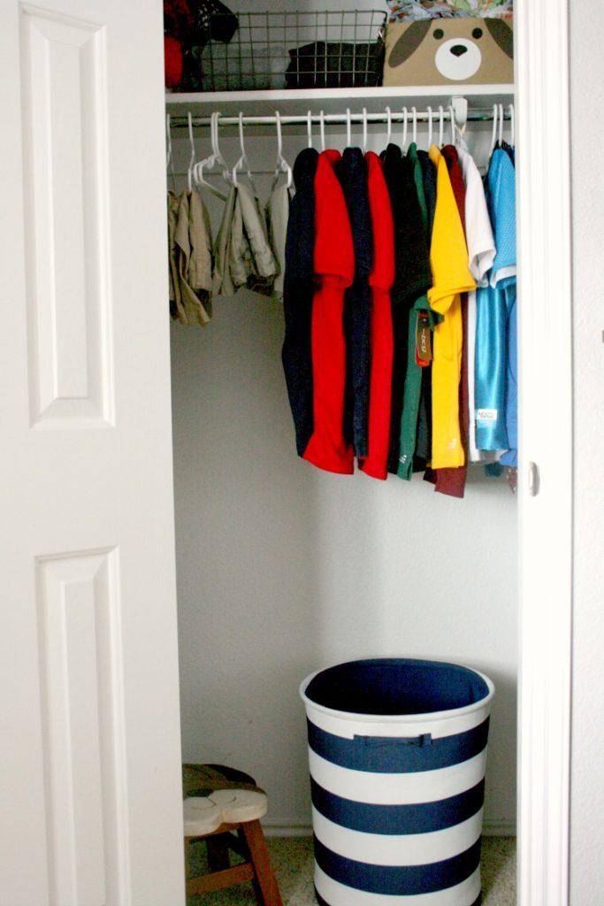 Target Closet organization