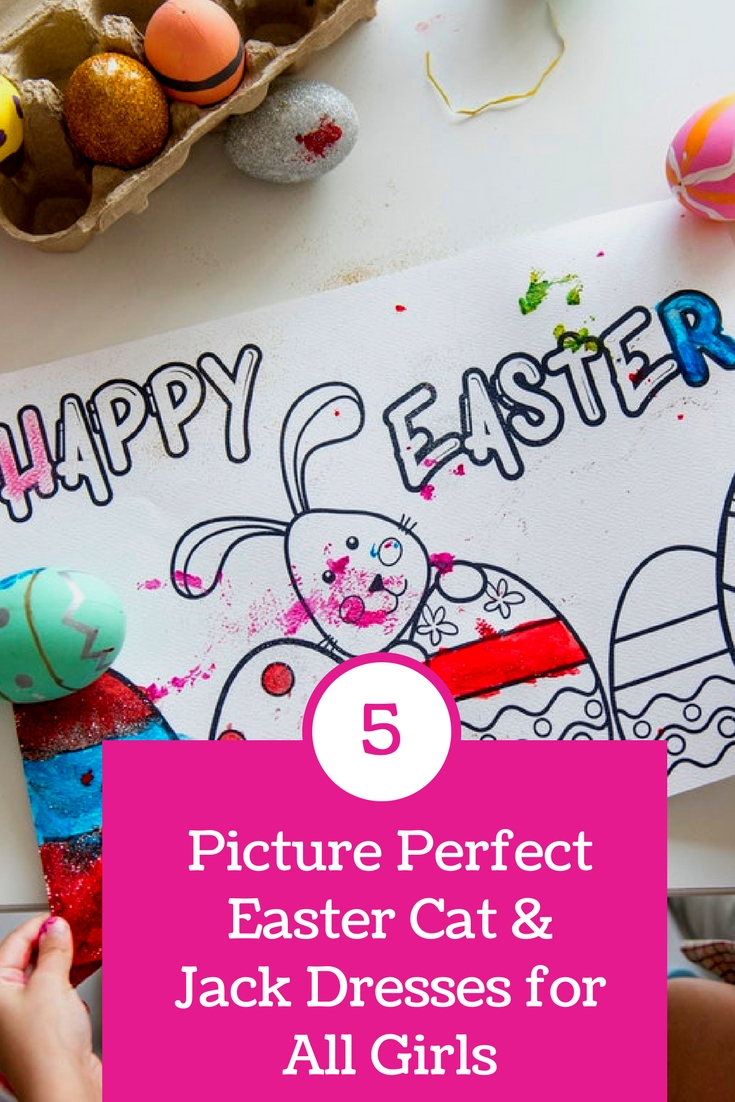 5 Picture Perfect Easter Dresses for Girls