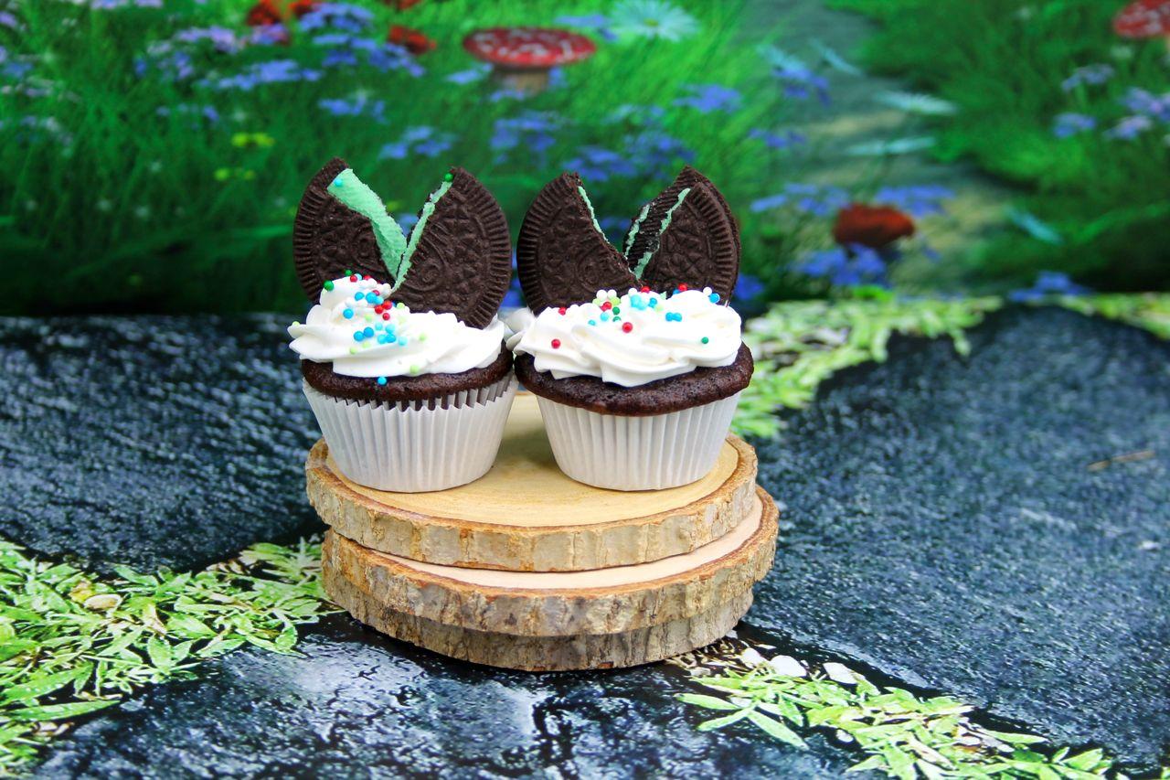 easy mini chocolate mint cupcakes