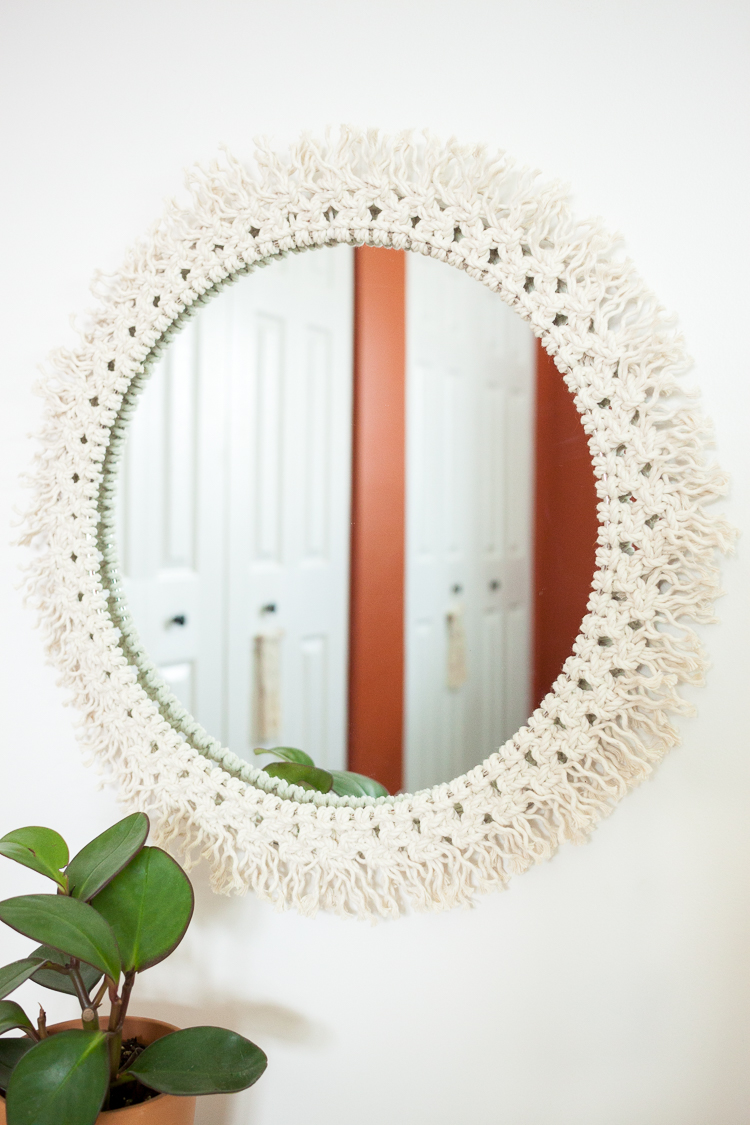 Diy Macrame Mirror Target Made Me Do It