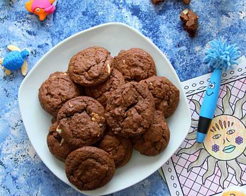 BAKING WITH KIDS (DOUBLE CHOCOLATE DROP COOKIES)
