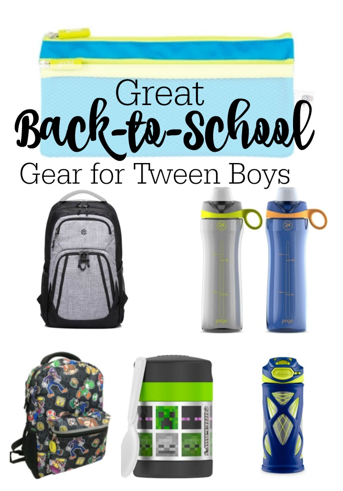 Target Gear for Tweens